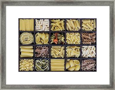 Pasta Framed Print by Tim Gainey