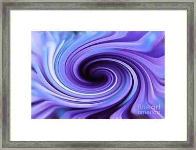 Pastel Beauty In Motion  Framed Print