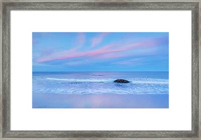 Pastel Evening Framed Print by Bill Wakeley