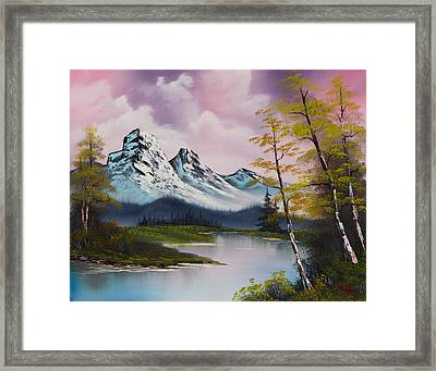 Pastel Fall Framed Print by C Steele