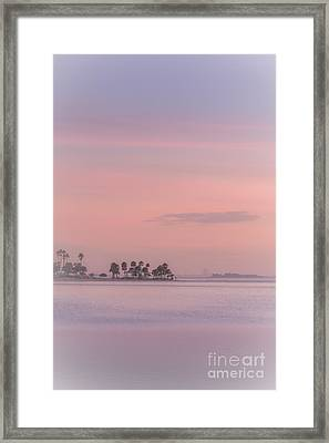 Pastel Islands In The Gulf Framed Print by Marvin Spates