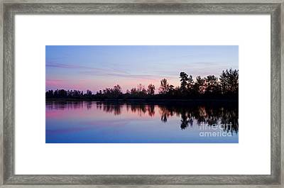 Framed Print featuring the photograph Pastel Landscape by Nick  Boren