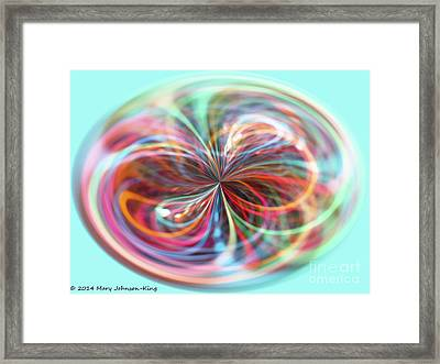 Pastel Light Framed Print by Mary  King