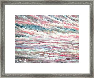 Pastel Mixture Framed Print by Janet Moss