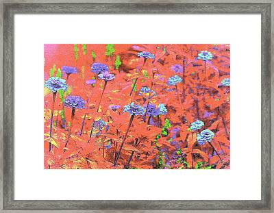Pastel Paintbox  Framed Print