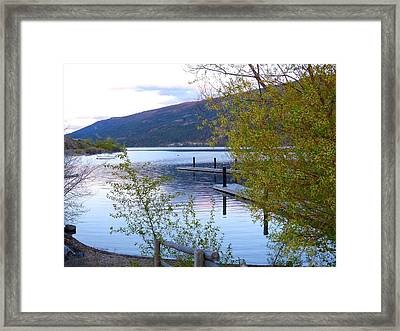 Pastel Reflections Framed Print by Will Borden