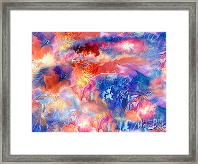 Pastel Storm By Spano  Framed Print by Michael Spano