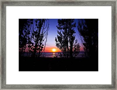 Framed Print featuring the photograph Pastel Sun by Jason Naudi Photography