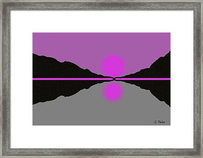 Pastel Sunrise Framed Print by George Pedro