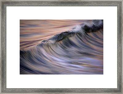 Pastel Wave  Mg2081 Framed Print