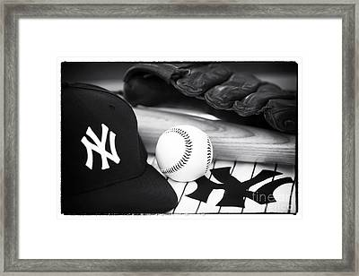 Pastime Essentials Framed Print by John Rizzuto