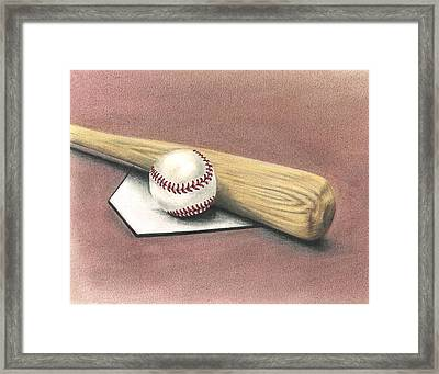 Pastime Framed Print by Troy Levesque
