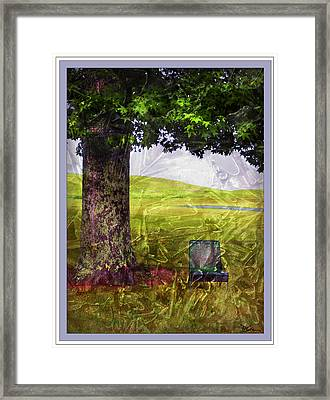 Pastoral Abstract Framed Print