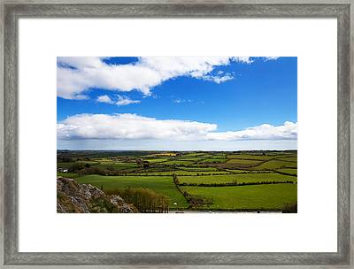 Pastoral View From The Sugar Loaf Rock Framed Print by Panoramic Images