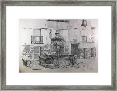 Pastrana Framed Print by Lorena Canalejas