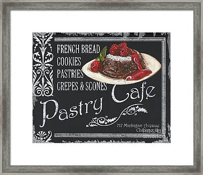 Pastry Cafe Framed Print