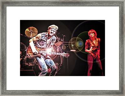 Pat Benatar In Concert Framed Print by Joe Myeress