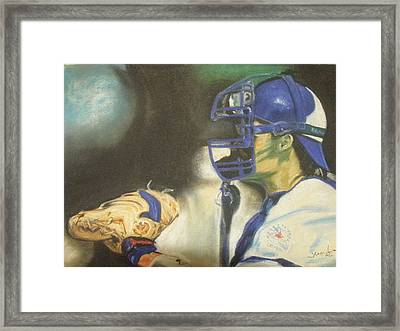 Pat Borders Framed Print by James Holding
