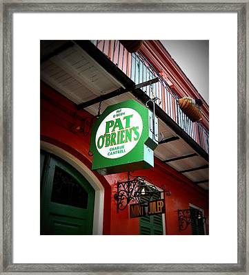 Pat O's Framed Print by Beth Vincent