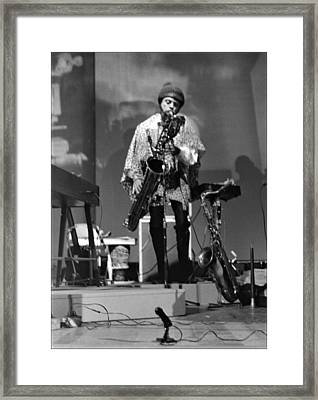 Pat Patrick 1968 Framed Print by Lee  Santa