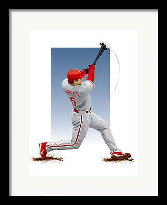 Pat Burrell Framed Prints