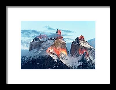 Chile Framed Prints