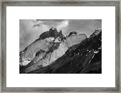 Patagonian Mountains Framed Print