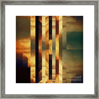 Pataphysical Translation Framed Print by Lonnie Christopher