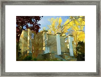 Patapsco Female Institute Framed Print
