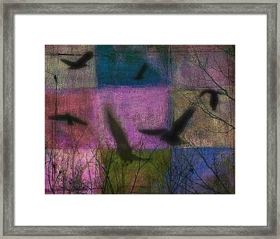 Patched Quilt Framed Print