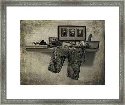 Patches 2 Framed Print