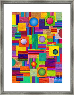 Patches Framed Print by David K Small