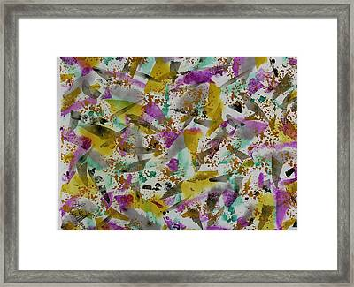 Patches Framed Print by Lisa Williams