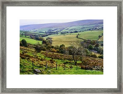 Patchwork Fields Northern Ireland Framed Print by Thomas R Fletcher