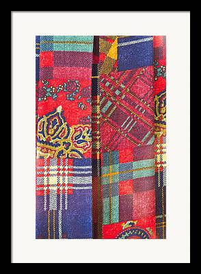 Tartan Quilts Framed Prints