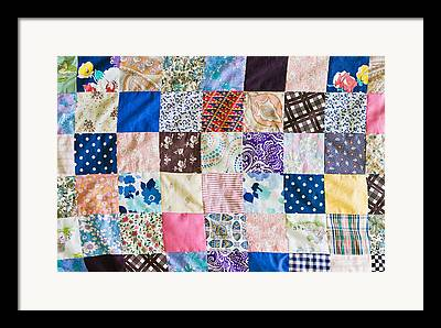 Home Made Quilts Framed Prints