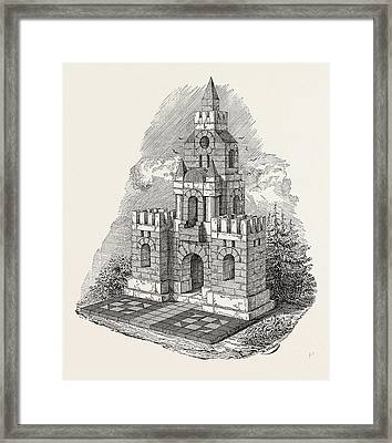 Patent Building Bricks Framed Print