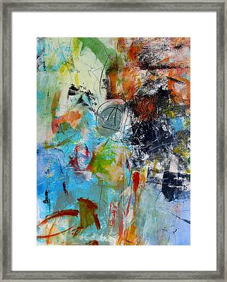 Framed Print featuring the painting Patent by Katie Black