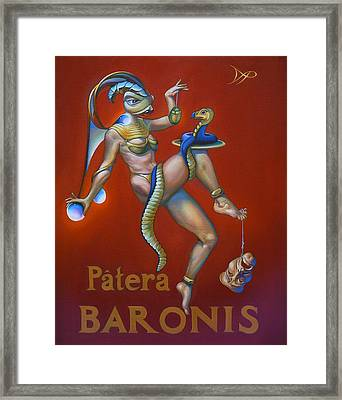 Patera Baronis Framed Print
