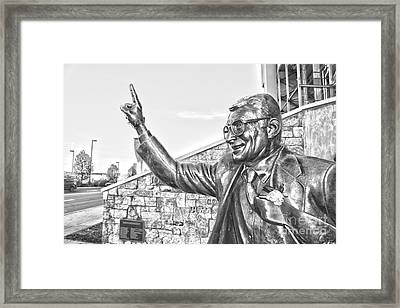 Paterno In Black And White Framed Print by Tom Gari Gallery-Three-Photography
