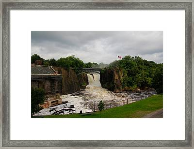 Paterson Great Falls Framed Print