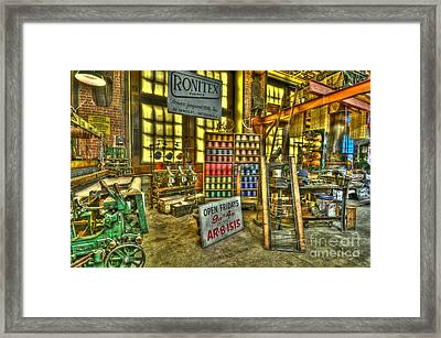 Paterson Silk Mill Framed Print by Anthony Sacco