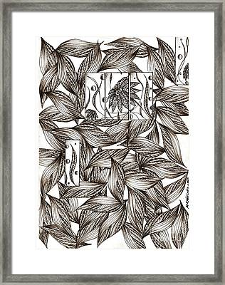 Path Framed Print by Anca S