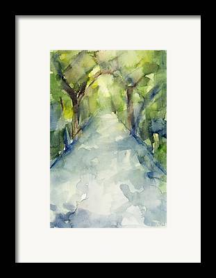 Watercolor Framed Prints