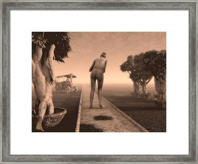 Path In Life Framed Print by Bob Orsillo