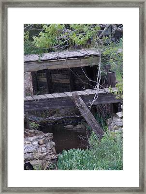 Framed Print featuring the photograph Path Less Taken by John Glass