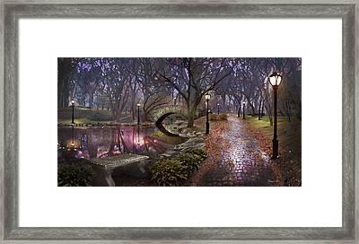 Path Of Inner Peace Framed Print by David M ( Maclean )