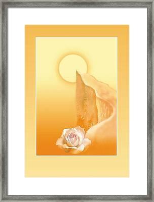 Path Of Integral Yoga  Framed Print by Shiva Vangara