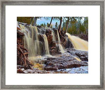 Path Of Least Resistance Framed Print by Gregory Israelson