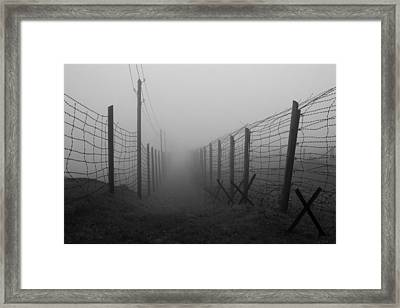 Path Of No Return Framed Print by Patrick Jacquet